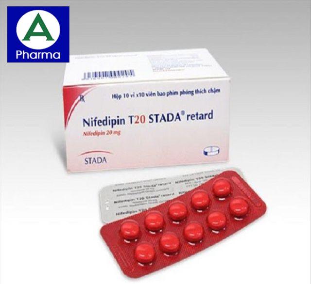 Nifedipin 20mg là thuốc gì?