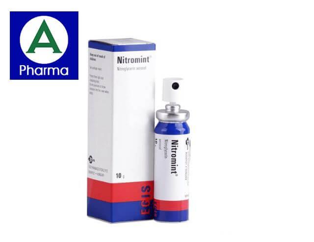 Thuốc Nitromint 10g là gì?