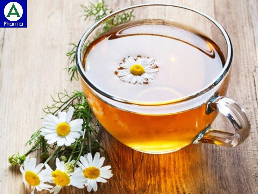 Trà hoa cúc giúp giảm căng thẳng hiệu quả