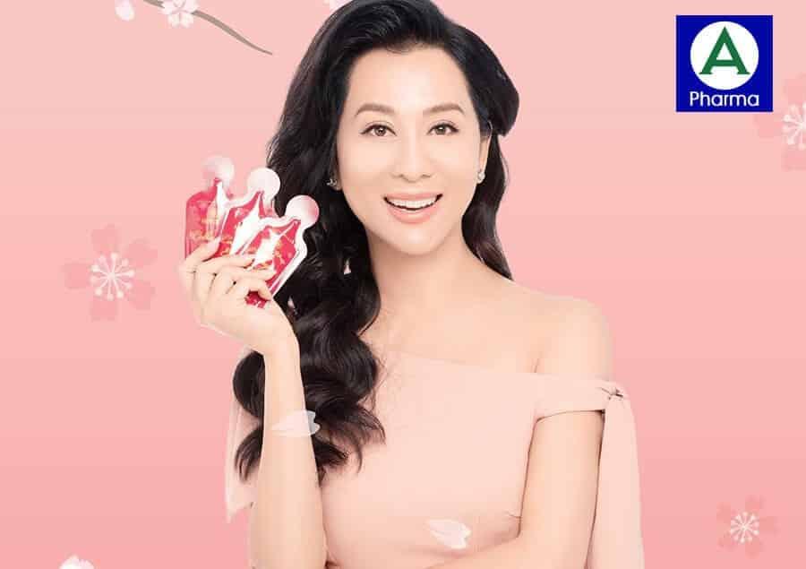Nước uống Collagen Nhật Bản hương hồng Damask là thần dược cho nữ giới