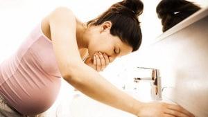 Ốm nghén khi mang thai