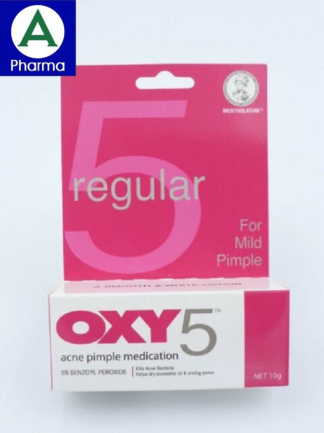 Oxy 5 tuýp 10g là thuốc gì?