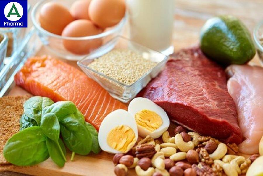 Một số thực phẩm cung cấp protein