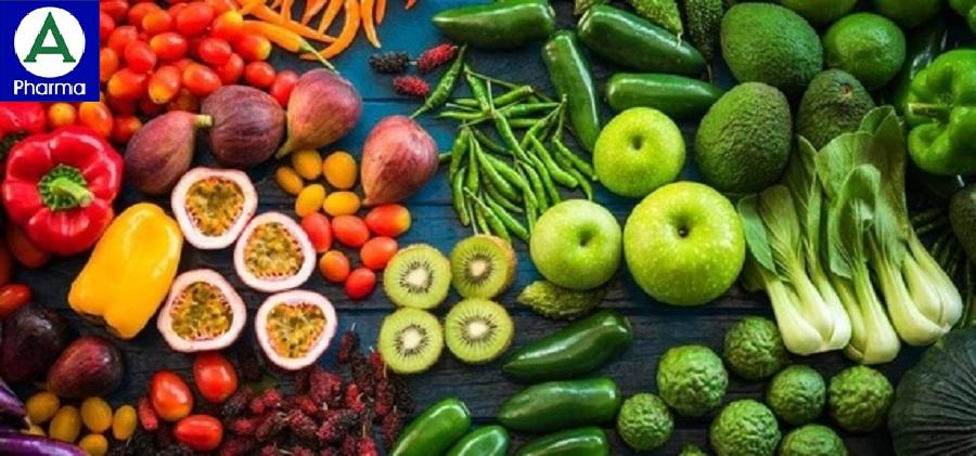 Nên bổ sung các Vitamin, khoáng chất từ rau xanh và trái cây.