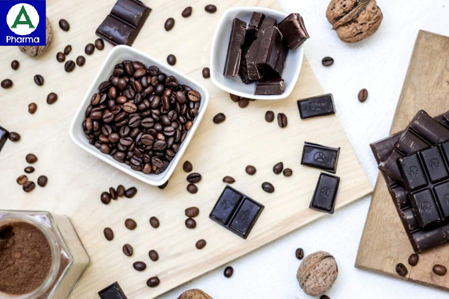 Người bị động kinh không nên dùng cà phê, socola.