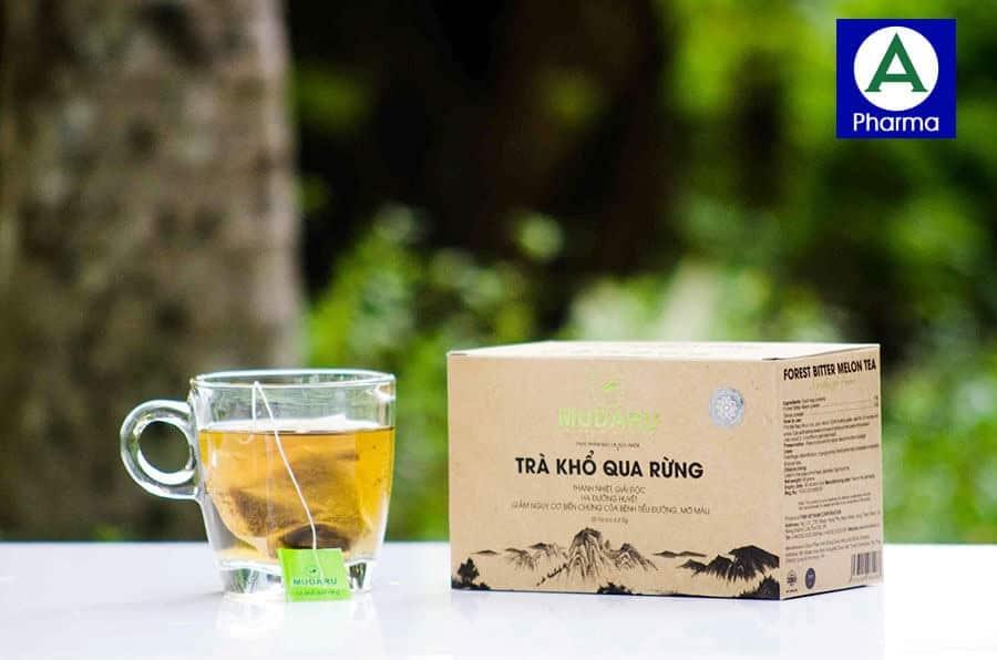 Sử dụng trà mướp đắng rừng đúng cách để đạt được hiệu quả tốt nhất