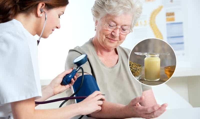 Sử dụng sữa ong chúa thường xuyên có thể giúp giảm huyết áp