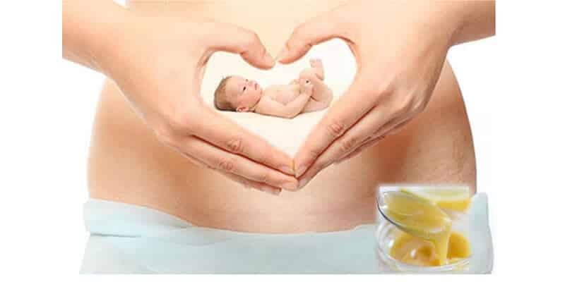 Tác dụng của sữa ong chúa tươi đối với bà bầu và thai nhi