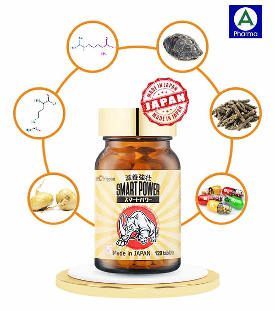 Thành phần của thực phẩm sức khỏe Smart Power