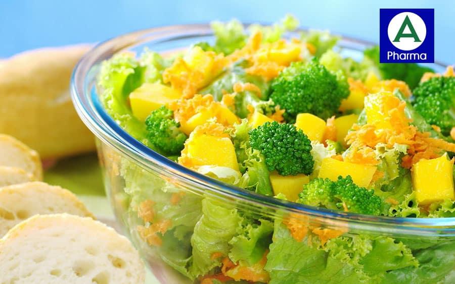 Nghệ và súp lơ xanh là hai thành phần lành tính được áp dụng hoàn hảo trong sản phẩm
