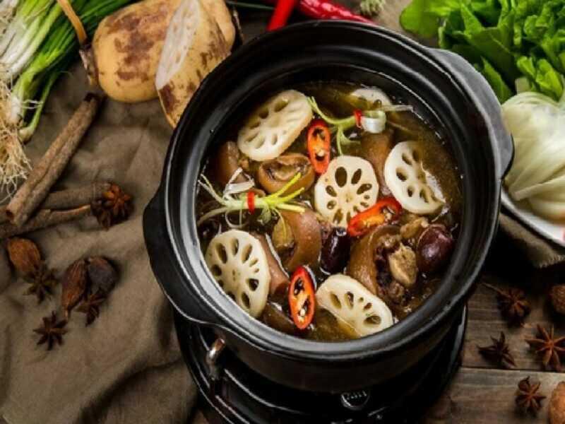 Thịt heo hầm thuốc bắc giúp cải thiện tình trạng suy nhược cơ thể
