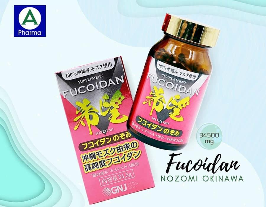 Thực phẩm bảo vệ sức khỏe Fucoidan Nozomi