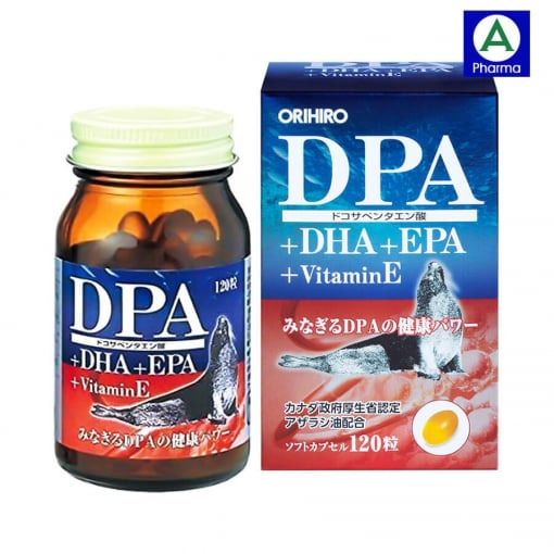 Thực phẩm bảo vệ sức khỏe DPA DHA EPA Vitamin E được sản xuất tại Nhật Bản