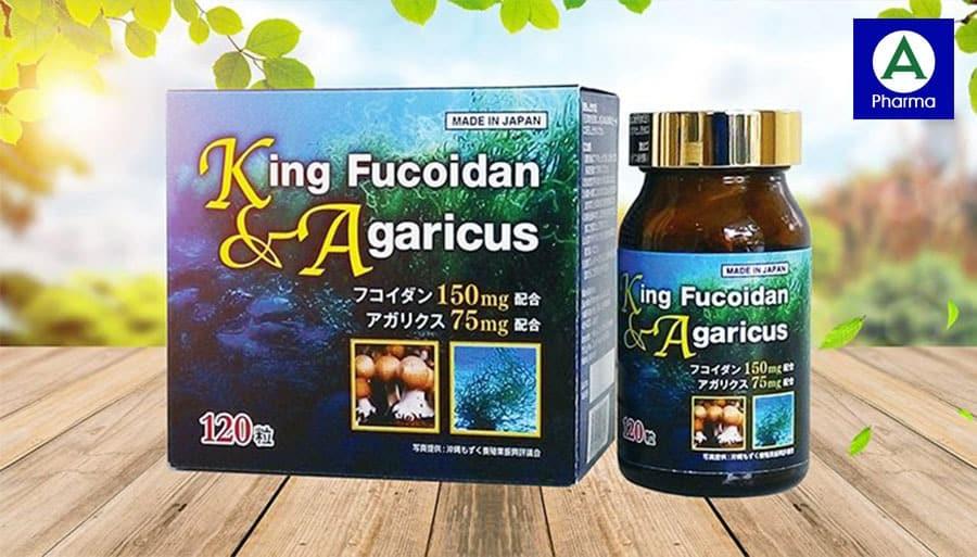 Xuất xứ của viên uống hỗ trợ điều trị ung thư King Fucoidan & Agaricus
