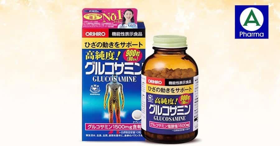Nên uống thuốc bổ xương khớp Nhật Bản Glucosamine Orihiro đúng liều lượng để đạt hiệu quả tốt nhất