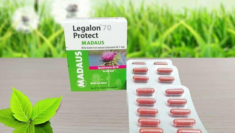 Thuốc Legalon 70 Protect giải độc gan và bảo vệ tế bào gan