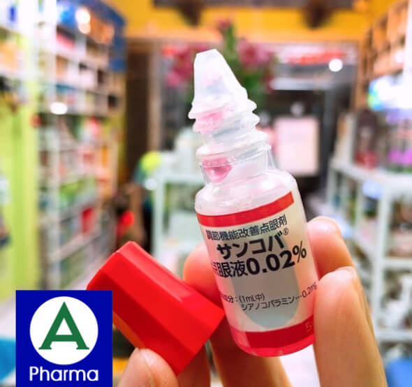 Thuốc nhỏ mắt Nhật sancoba - Apharma