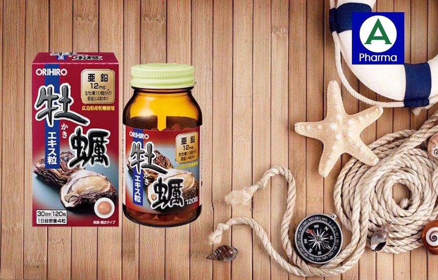 Tinh chất hàu tươi Orihiro Nhật Bản là sản phẩm được nhiều nam giới tin tưởng sử dụng