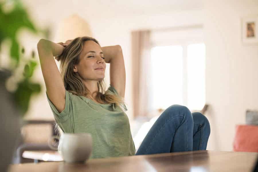 Giúp dầu quế giúp thư giản, hạn chế stress