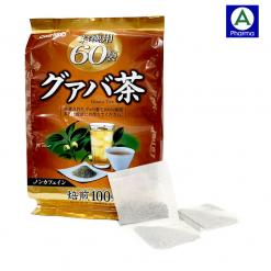 Trà ổi giảm cân Orihiro Nhật Bản có 60 gói