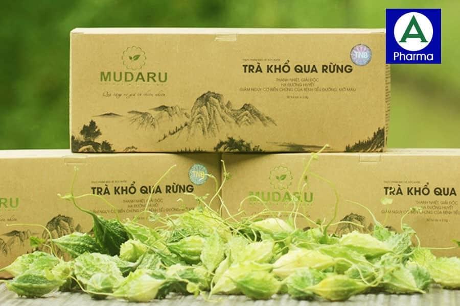 Trà khổ qua Mudaru là thực phẩm tốt cho sức khỏe người dùng