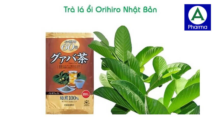 Thành phần trà ổi Orihiro được làm từ 100% từ thiên nhiên