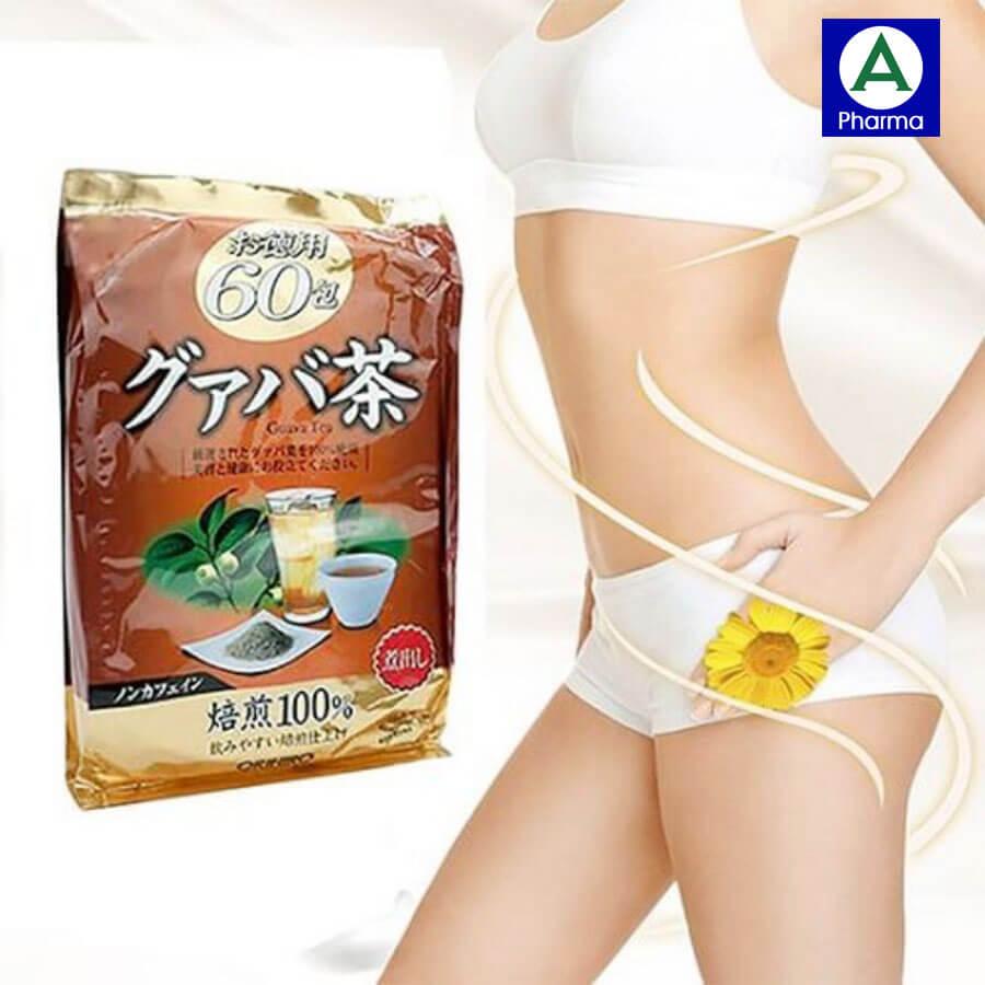 Trà ổi giảm cân Nhật Bản Orihiro - Phương pháp giảm cân an toàn và hiệu quả