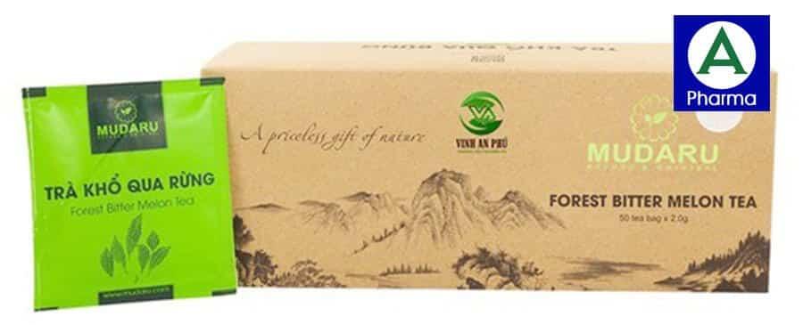 Trà túi lọc khổ qua rừng Mudaru giúp nâng cao sức khỏe và giảm cân hiệu quả