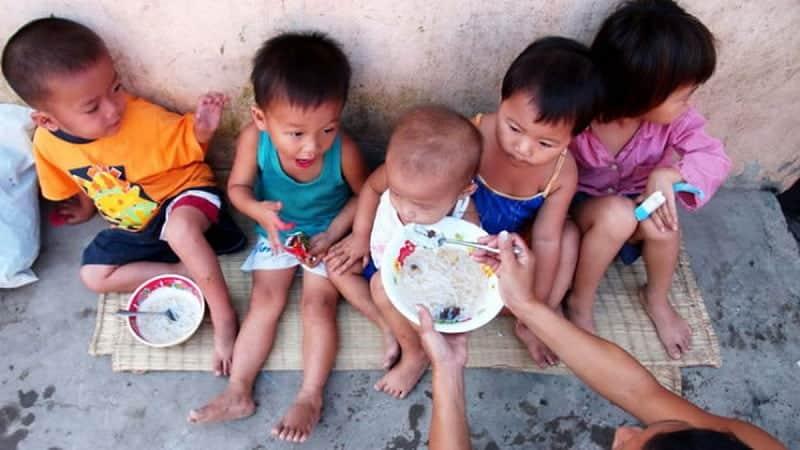 Trẻ suy dinh dưỡng ở các nước kém phát triển