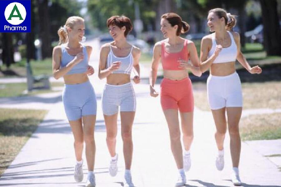 Vận động và tập luyện làm tăng nhu động ruột