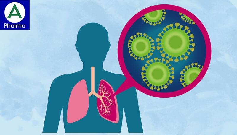 Thuốc Rocephin được chỉ định trong bệnh viêm phổi