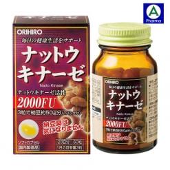 Viên uống Orihiro Nattokinase Nhật Bản