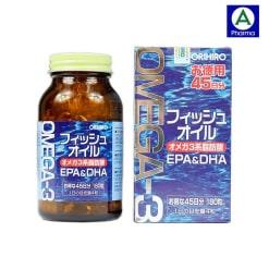Viên uống dầu cá omega 3 Orihiro