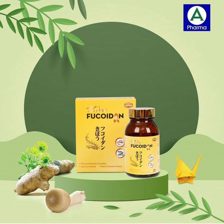 Viên uống Fucoidan Nhật Bản dùng được cho bệnh nhân ung thư và cả người thường