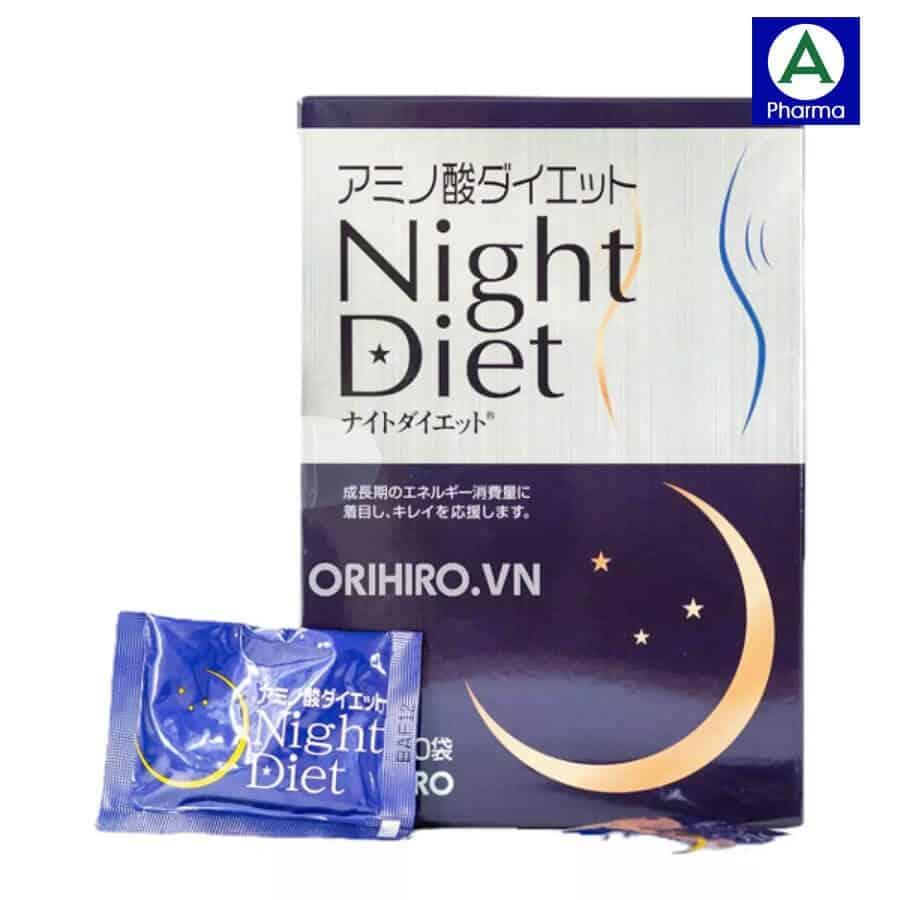 Viên uống Night Diet Orihiro là sản phẩm của hãng Orihiro