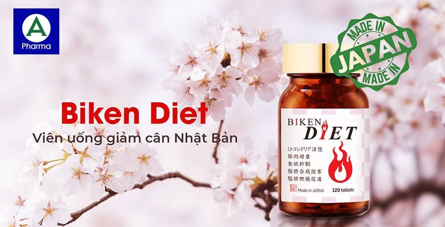 Viên uống giảm cân Nhật Bản Biken Diet