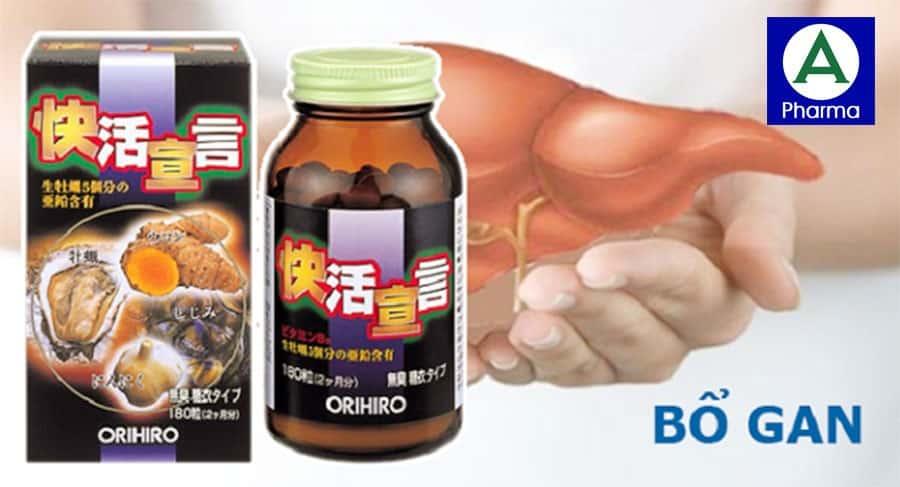 Viên uống hàu nghệ được sản xuất theo quy trình khép kín của Nhật