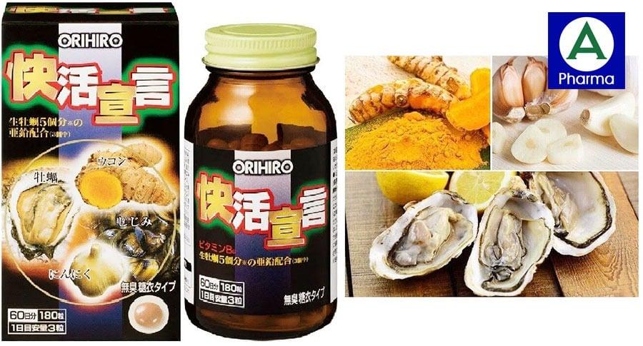 Viên uống hàu nghệ Nhật Bản tăng cường sinh lực phái mạnh