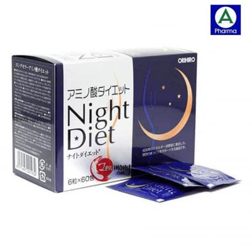 Viên uống hỗ trợ giảm cân Night Diet Orihiro