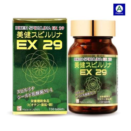 Viên uống tảo xoắn Nhật Bản