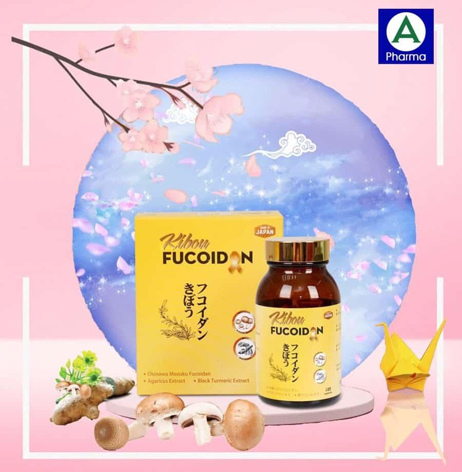 Viên uống trị ung thư Fucoidan Nhật
